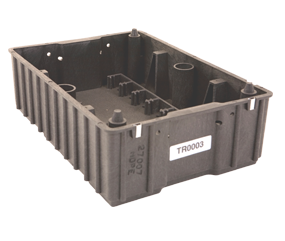 Reusable plastic industrial container — Robinson Industries